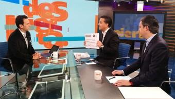 Damián Zepeda Aurelio Nuño en mesa de Despierta con Loret