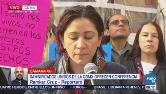 Damnificados lamentan renuncias de funcionarios vinculados a la reconstrucción en CDMX