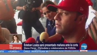 Dan detalles de la detención de Esteban Loaiza