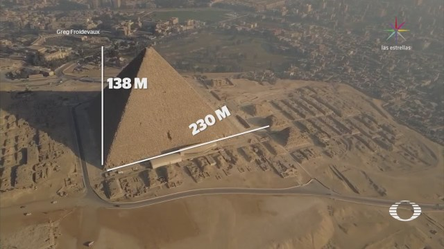 Descubren exactitud en alineación de las pirámides de Egipto