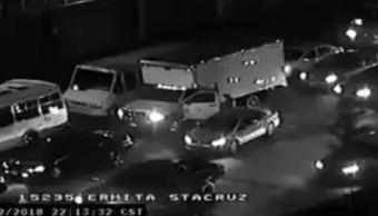 Detienen a presunto responsable de robo a transportista en la CDMX