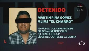 Detienen a 'El Charro' en Chilpancingo, Guerrero