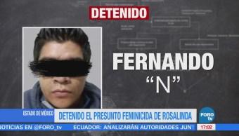 Detienen Feminicida Rosalinda Detenido Querétaro Rosalinda Stephanie Morales