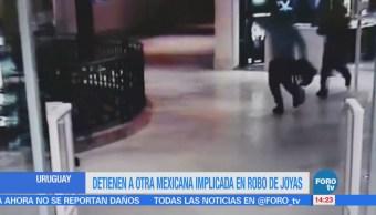 Detienen Mexicana Implicada Robo Joyas Uruguay