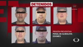 Detienen a policías implicados en desaparición