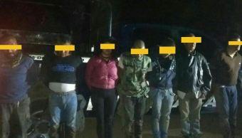 Detienen a siete presuntos delincuentes tras un enfrentamiento en Michoacán