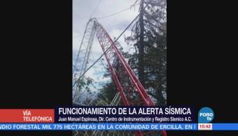 Director del Cires habla de las fallas en la alerta sísmica