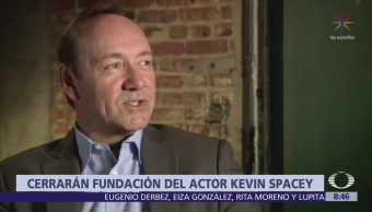 Disuelven la fundación del actor Kevin Spacey