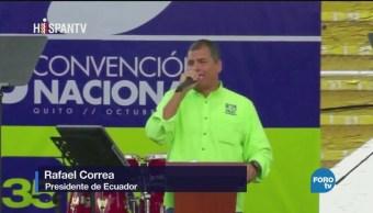 Ecuador: el hijo pródigo traiciona a Rafael Correa