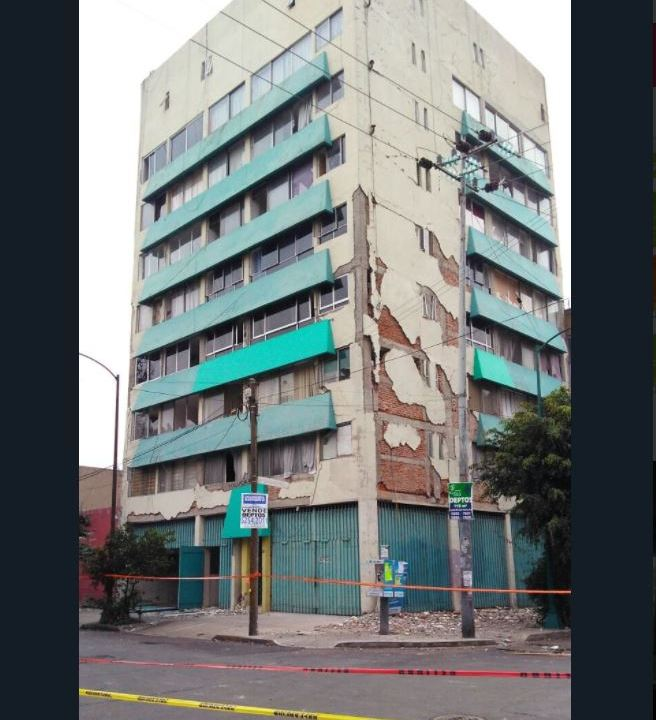 este lunes demoleran edificio en toluca 28, en la colonia roma