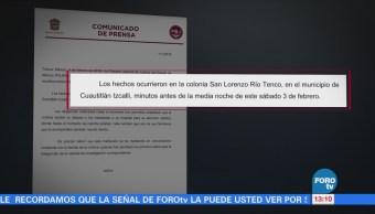 Edomex investiga agresión a Francisco Rojas