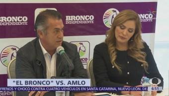 'El Bronco' afirma que no declinará a favor de ningún candidato independiente