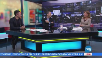 El cantautor Fonseca visita Matutino Express