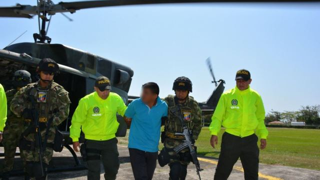 Capturan a líder del ELN alias 'Mico' en el este de Colombia