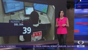El número del día: 39% fue el aumEl número del día: 39% fue el aumento de llamadas al 911ento de llamadas al 911