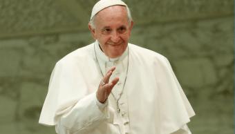El papa Francisco durante la audiencia general de los miércoles