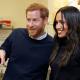 El príncipe Enrique y Meghan Markle en Edimburgo