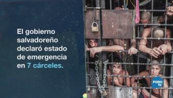 El Salvador: Masacre y malas condiciones para pandilleros