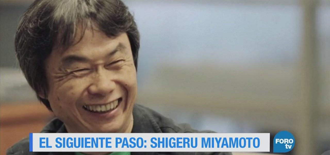 El siguiente paso: Shigeru Miyamoto
