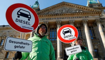Corte autoriza a ciudades alemanas prohibir coches de diésel