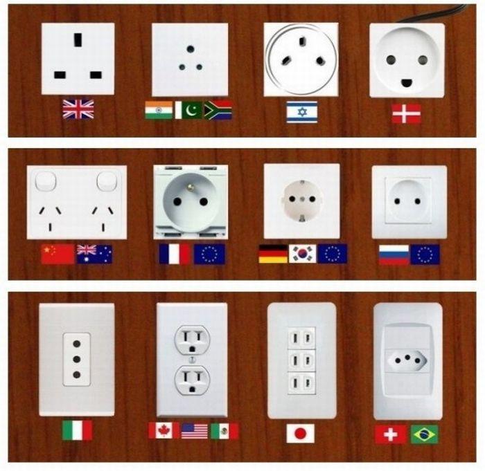 enchufes-electricos-de-todo-el-mundo-junto-a-adaptador-universal