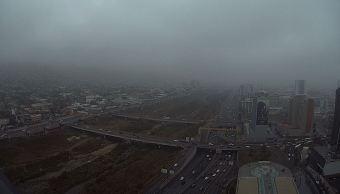 Frente frío 28 causa vientos y lluvias en Nuevo León