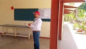 suspenden clases revision escuelas sismo costa oaxaca