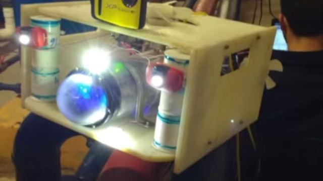Crean en la UNAM robot sumergible para limpiar cisternas sin vaciarlas