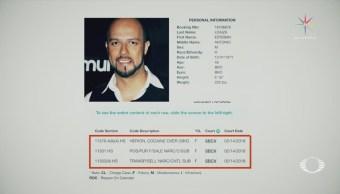Esteban Loaiza podría alcanzar 15 años de cárcel por posesión de drogas