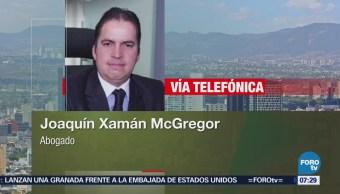 Joaquín Xamán Mcgregor Explica Acusación Ricardo Anaya Triangulación Recursos