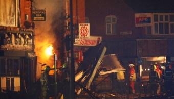 Explosión en ciudad inglesa de Leicester deja cinco muertos