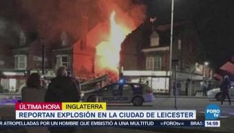 Explosión en la ciudad de Leicester en Reino Unido