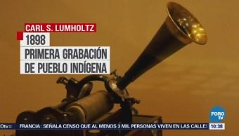 Exponen en México los primeros registros sonoros de culturas indígenas