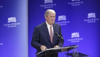expresidente bush ve pruebas interferencia rusa eu