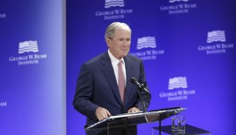 expresidente bush ve pruebas interferencia rusa eu
