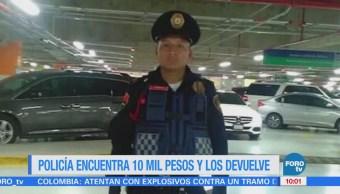 Extra Extra: Policía encuentra 10 mil pesos y los devuelve