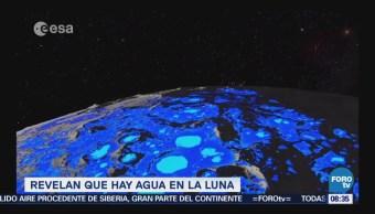 Extra, Extra: Revelan que hay agua en la Luna