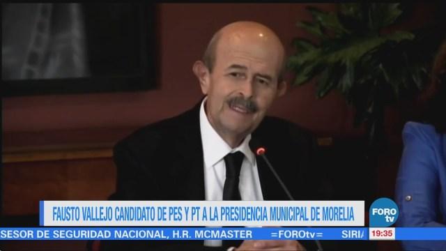 Fausto Vallejo Contendrá Ayuntamiento Morelia