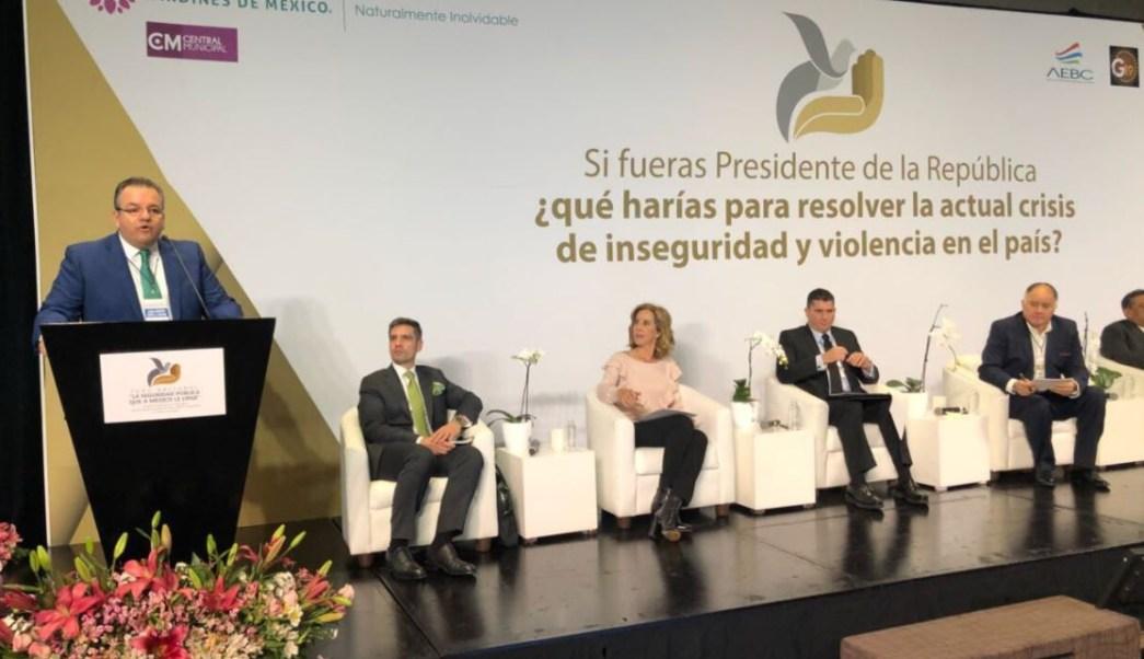 Realizan foro nacional 'La Seguridad Pública que a México le Urge'