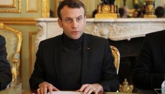 Macron advierte que Francia atacará si se prueban ataques químicos