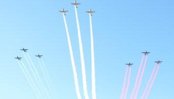 Base militar de Hermosillo conmemora 103 años de la Fuerza Aérea Mexicana