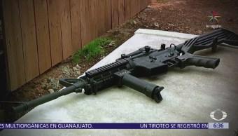 Fusil AR-15, el más en común en masacres de Estados Unidos