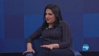 Genaro Lozano entrevista a Rosemary Safie Samour
