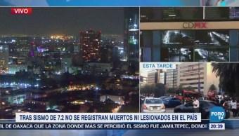 Gobierno de Oaxaca confirma sólo daños materiales por sismo de 7.2 grados