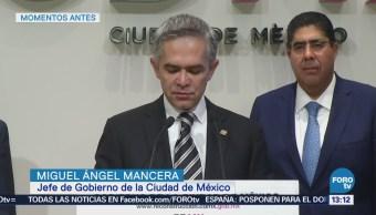 Grúas Sspcdmx Emitirán Infracciones Mancera Miguel Ángel