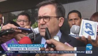 Guajardo pide no sujetar renegociación del TLCAN al proceso electoral