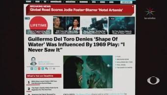 Guillermo del Toro rechaza acusación de plagio por 'La Forma del Agua'