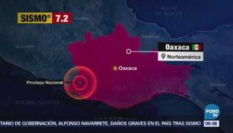 Sismo Magnitud 7.2 Perceptible Forma Moderada Muy Severa México