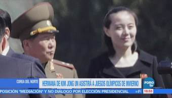 Hermana de Kim Jong Un asistirá a Juegos Olímpicos de Invierno