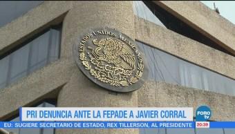PRI Denuncia Fepade Javier Corral